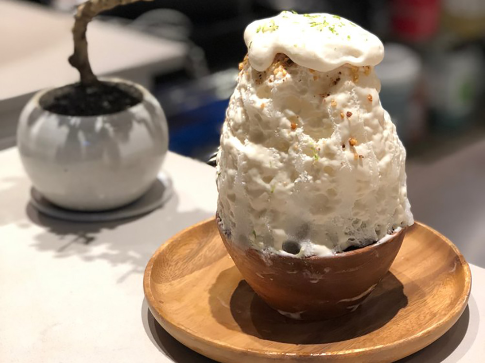 Japanese Shaved Ice Cream from Bonsai Kakigori, NYC