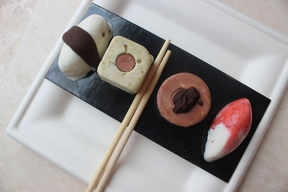 Ice Cream Sushi from Gelarto New York City