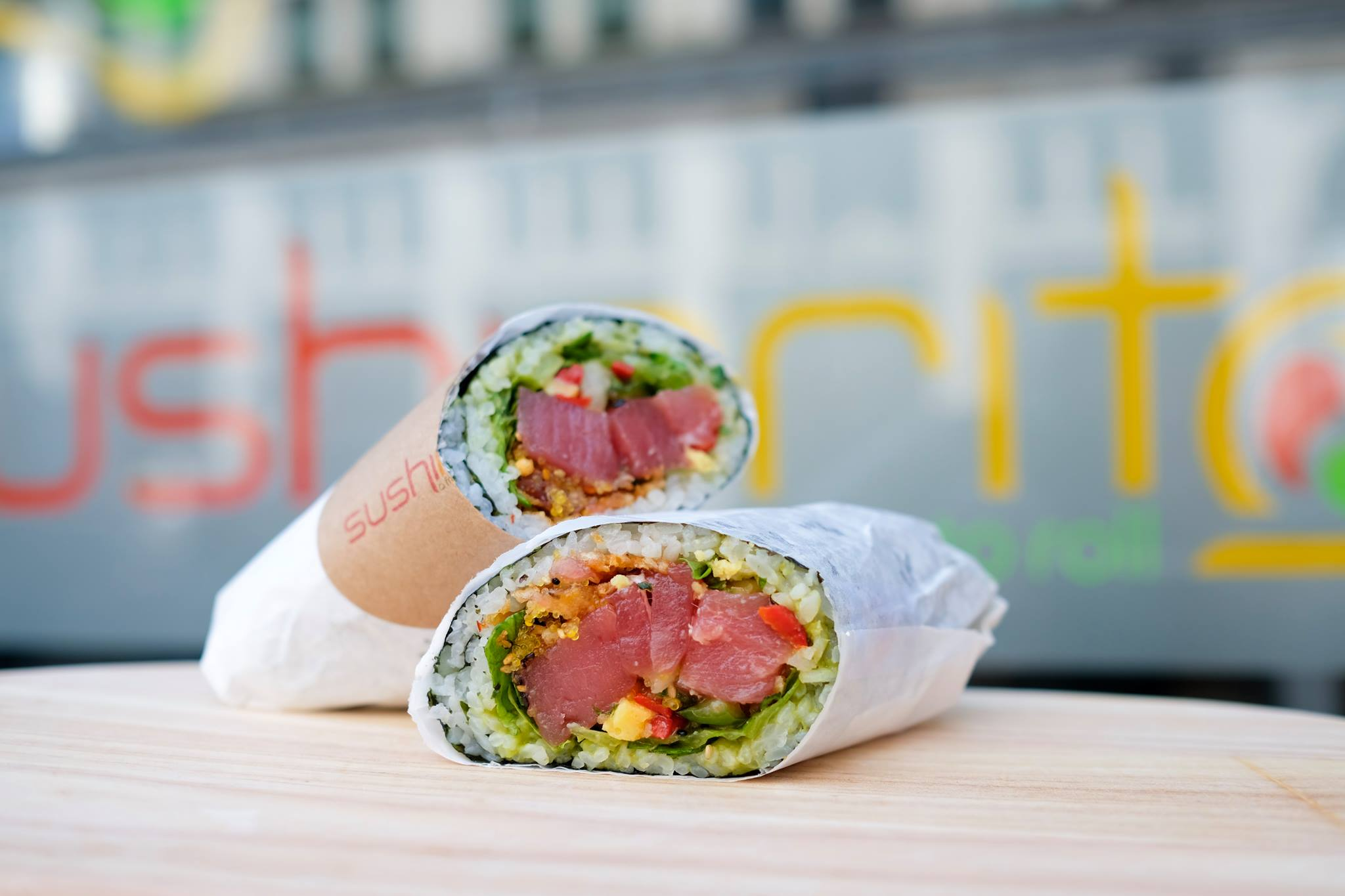 Sushi Burrito from Sushirrito (New York)